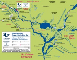 Wasserkarte
